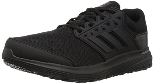 adidas Performance Men's Galaxy 3 m Running Shoe, Black/Black/Black, 12 Medium - Running Men's Shorts 3