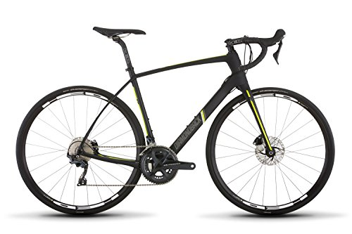 Diamondback Bicycles Century 6 Carbon Endurance Road Bike, 58cm/X-Large, Black