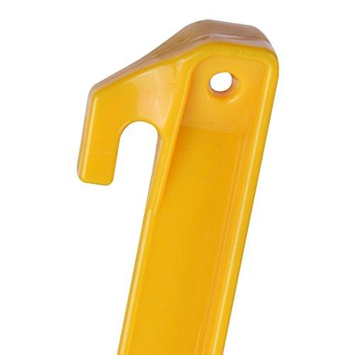 10T Outdoor Equipment Peg it 10th 22ABS Hareng, jaune, 220x 20x 20mm