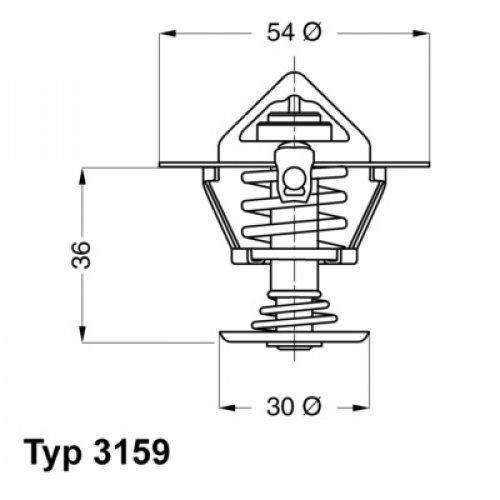 Wahler 3159.82D Refrigerantes del Motor