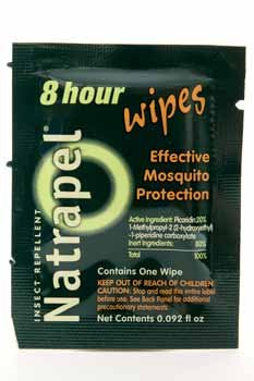 Natrapel Wipes - Natrapel 8 Hour Wipes Adventure Medical 0006-6095