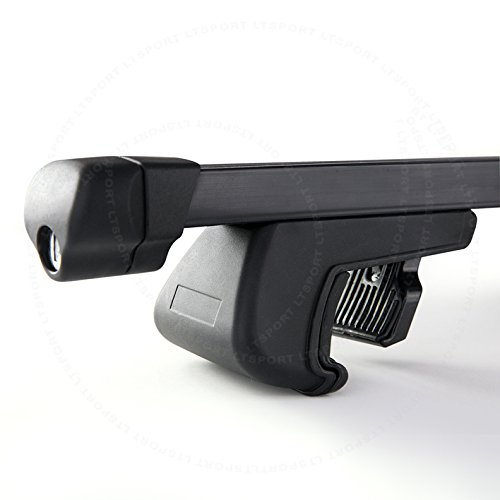 LT Sport 00842148142361 For JEEP PATRIOT Cross Bars Aluminum Cargo Key Lock Rooftop Roof Rack