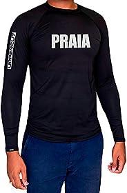Uppercut Camisa Praia Térmica Proteção Solar UV-50 ML, G, Preta