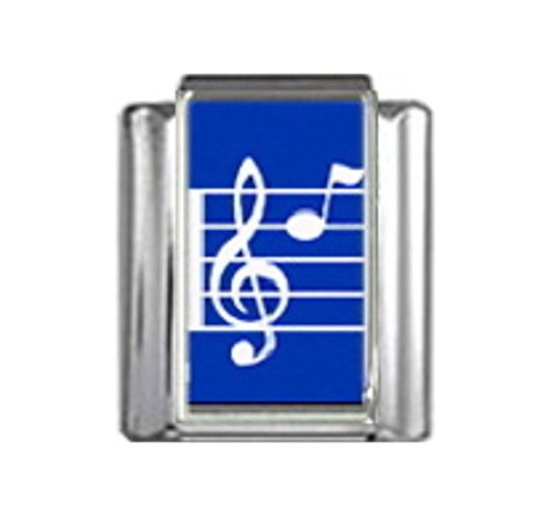 Stylysh Charms Music Musical Note Photo Italian 9mm Link MD002