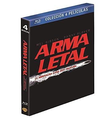 Pack Arma Letal Blu-Ray [Blu-ray]: Amazon.es: Mel Gibson, Danny Glover, Joe Pesci, Richard Donner, Mel Gibson, Danny Glover, Richard Donner: Cine y Series TV