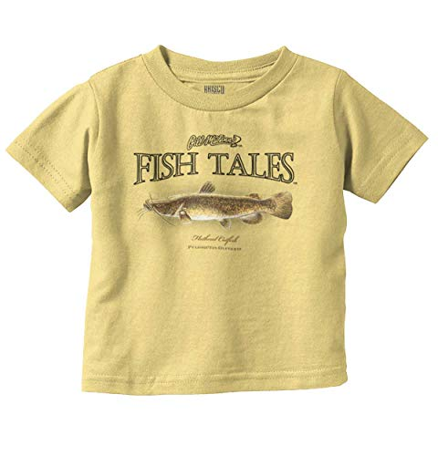 Brisco Brands Gill Flathead Catfish Fish Outdoor Angler Infant Toddler T Shirt