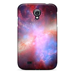 New Customized Design Colorful Space Dust For Galaxy S4 Cases Comfortable For Lovers And Friends For Christmas Gifts