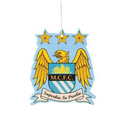 [해외]맨체스터 시티 크레스트 카 에어로션/Manchester City Crest Car Air Freshener
