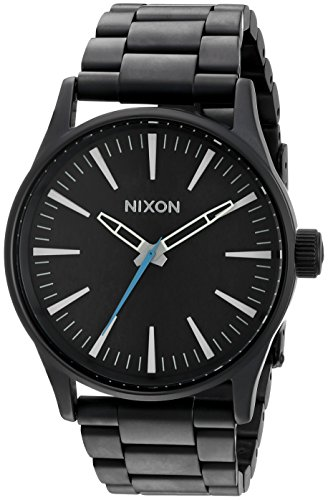 Nixon Men's A450712 Sentry 38 SS Analog Display Japanese Quartz...