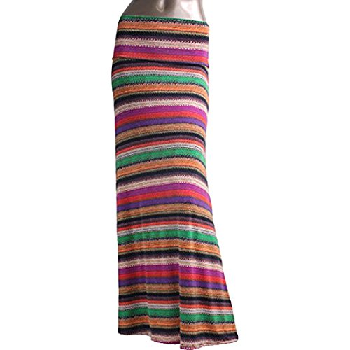 Azules Maxi Skirt - E66 - XL