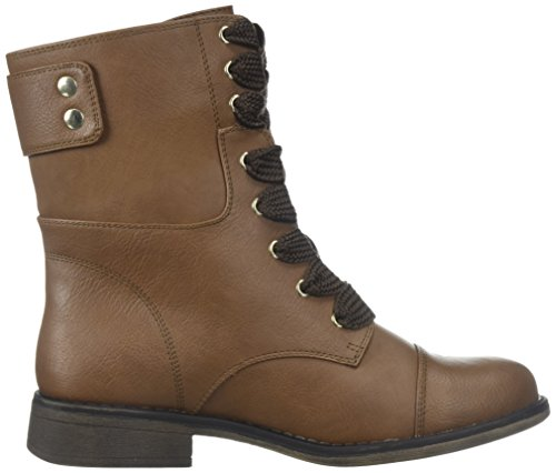 Telling Spring cognac Boot Combat It Women's Call qF1wxRvt8