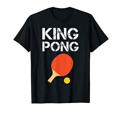 Funny Ping Pong Tshirt: King Pong Shirt