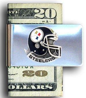 Nfl Money Clips - Pittsburgh Steelers Steel Money Clip
