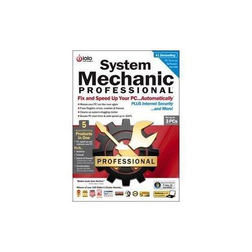 Iolo Technologies Llc Smp08wmq Pc System Mechanic Pro Mbx