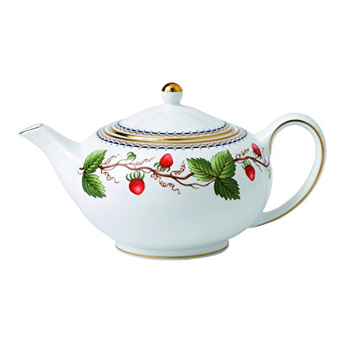 Wedgwood Wild Strawberry Archive Teapot (Small Size)