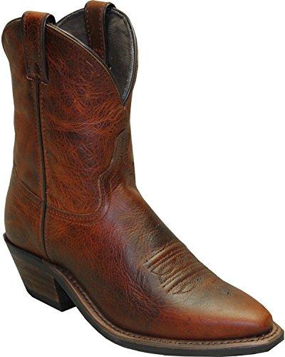 Abilene Womens 7 Cowgirl Laars Knipt Teen - 9092 Bruin