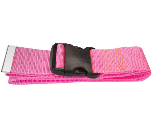 Prestige medical Nylon Gait Transfer Belt (Plastic Buckle) Hot Pink Model 622