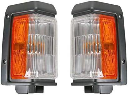 Corner Parking Light Pair Set for Jeep Cherokee Wagoneer Comanche Pickup Truck