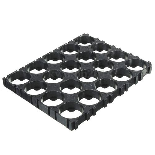 Farmunion 10PC 18650 Battery 4x5 Cell Spacer Radiating Shell Plastic Holder Bracket 18.4mm (Shell Spacer)
