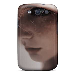 High Quality Cynthaskey Mystic Eyes Girls Skin Case Cover Specially Designed For Galaxy - S3