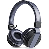 Photive Bluetooth Headphones BTH-85 Over The Ear Wireless Headphones- Blue