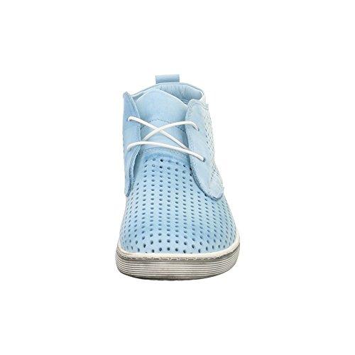 Andrea Conti 0343425019h.blau - Zapatos de cordones de Piel para mujer Azul