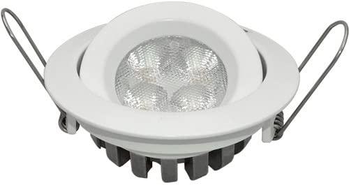 Guli TD16 Cibeles LED con driver incluido 6000K, 5 W, Blanco, Ø82 x 26 mm