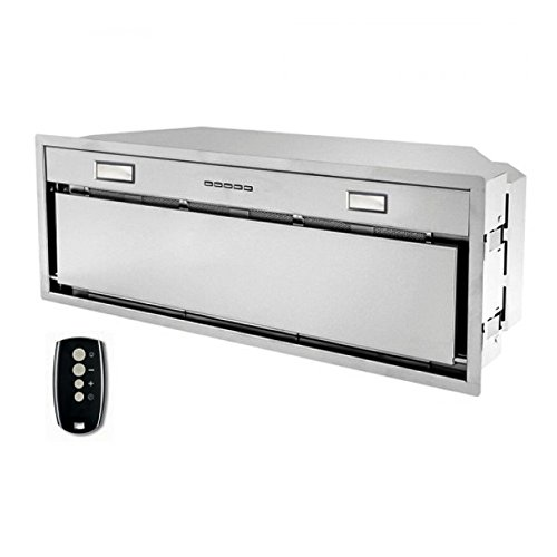 Futuro Futuro Insert-Liner 32 Inch Wall-mount / In-Cabinet Range Hood, Remote Control, LED, Ultra-Quiet, with Blower