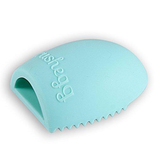 FACILLA® Make-up Pinsel-Reinigung Massage Werkzeug Reiniger Finger Glove Silikon Grün