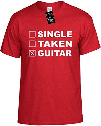 Signature Depot Kids Funny T-Shirt Size L (Single Taken Guitar (Music) Youth Tee Shirt