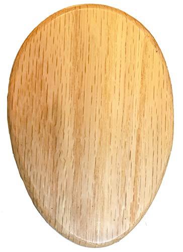 Amish Towel Magic Marble Holder NATURAL CLEAR stain OAK hardwood