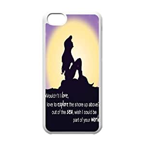 Wholesale Cheap Phone Case For Iphone 5c -Mermaid Ariel-LingYan Store Case 20