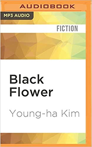 Book Black Flower