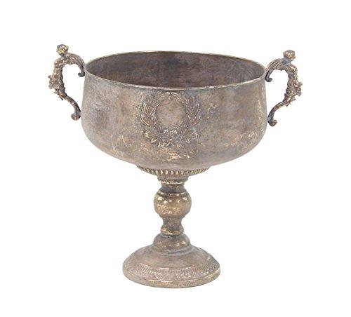 metal urn planter - 2