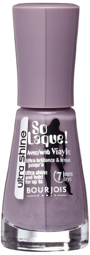 So Laque Enamel Nail Bourjois - So Laque Ultra Shine Nail Enamel - 49 Fashion Gris