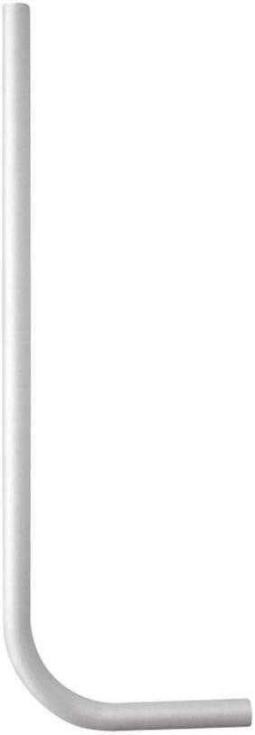 Sp/ülrohr /Ø 28 mm f/ür WC-Drucksp/üler tecuro Kunststoff wei/ß 85 mm gekr/öpft 583553
