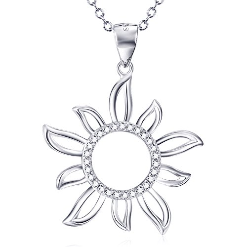 YFN Sterling Crystal Sunshine Necklace