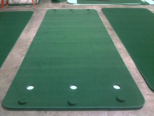 Big Moss Golf SUPER G 6' X 15' Practice Putting Chipping Green w/ 6 Cups by Big Moss Golf (Image #1)