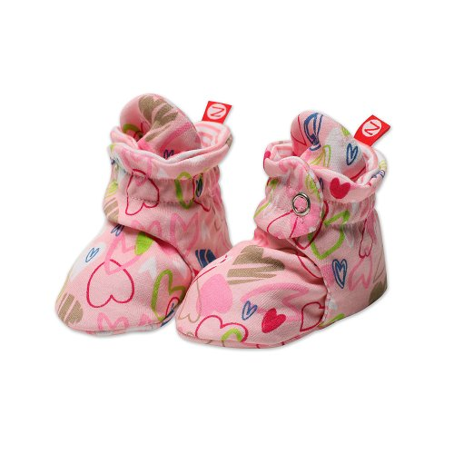 Zutano Baby Girls' Love You Bootie
