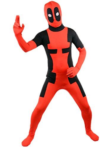 Deadpool Costume Halloween Cosplay Jumpsuits
