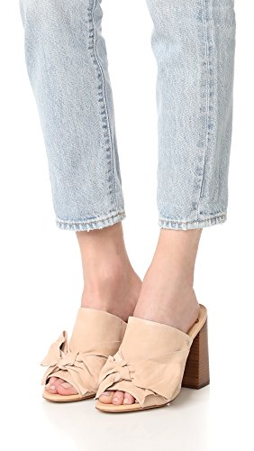 Naked Sam Heeled Natural Edelman Yumi Sandal Women's Suede YvtYSqwr