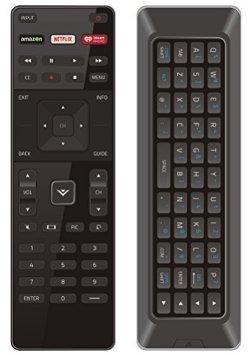 VIZIO Qwerty Dual Side Remote XRT500 with Backlight, Model: xrt500, Gadget & Electronics Store