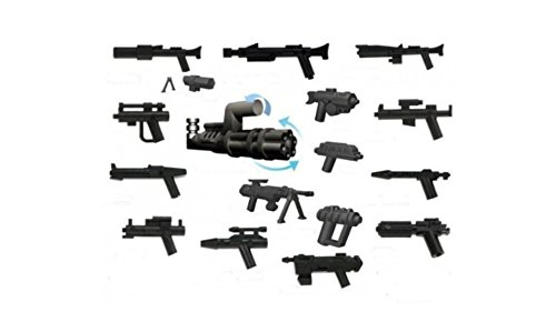 Little Arms Custom Shop Weapon Set : 16 weapons and (Weapon Arms)