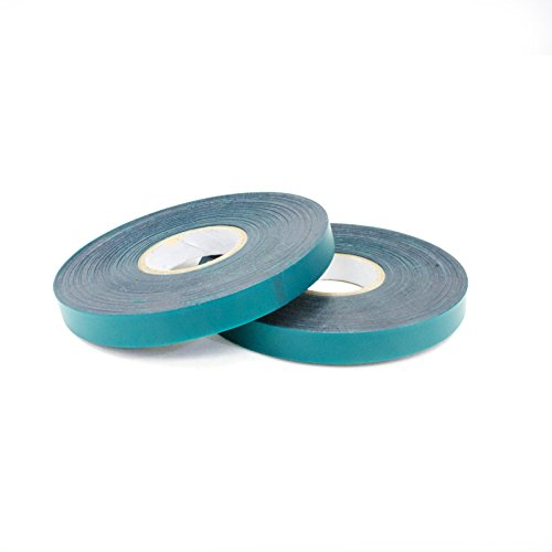 "Chu's Packaging Supplies NY2042 Nursery, Agriculture, Plant, Garden Stretch Tie Vinyl Tape or Ribbon,Green, 6.0 Mil, 31/64"" x 200 feet (Case of 96 Rolls) -"