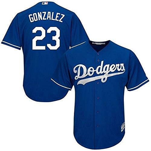 Adrian Gonzalez Los Angeles Dodgers MLB Majestic Youth Blue Alternate Cool Base Replica Jersey (Large (Gonzalez Jersey)