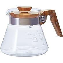 Hario V60 Coffee Server, 600ml, Olive Wood
