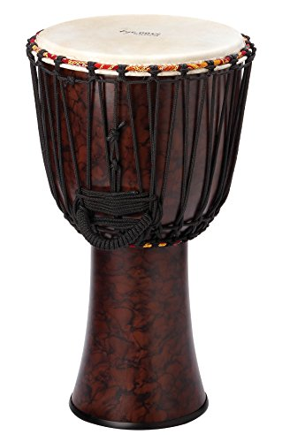 Tycoon Percussion TFAJ-12 12 Fiberglass Djembe, Rope Tuned by Tycoon Percussion