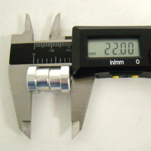 Manitou 12.5mm eyelet shock mount hardware, (Manitou Rear Shocks)