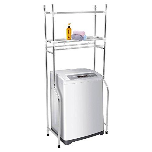 Fashine Over Washing Machine Shelf Unit utility Laundry Organizer Storage Rack Multifunctional Standing Bathroom Storage (  sc 1 st  Shoplology & Over Washer Storage Shelf - TOP 10 Results