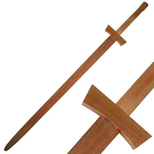 BladesUSA 1607 Martial Art Hardwood Wood Long Sword Training Equipment 48-Inch - Hardwood Sword